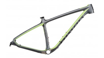 NINER AIR 9 Carbon (Frame) - Gunmetal/Niner Green - L