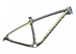 NINER AIR 9 Carbon (Frame) - Gunmetal/Niner Green - XL