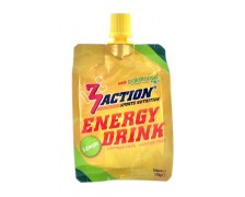 3Action Energy Drink 100ml - Lemon  (5+1 GRATIS)