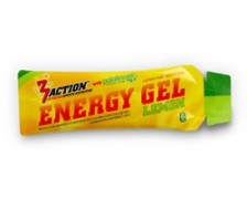 3Action Energy Gel 34gr - Lemon - Doos (50stuks)