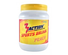 3Action Sports Drink 500gr - Peach